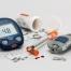 medizinische Utensilien, die ein Diabetiker benötigt