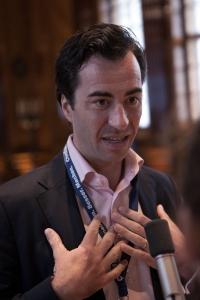 Markus Kutrzeba bei der Corporate Health Convention 2017 in Wien im Interview mit sportblog.cc