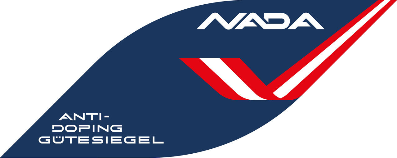 Logo des NADA Österreich Anti-Doping Gütesiegels