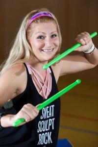 Portrait-Bild Sabine Hatz - Pound Master-Trainerin bei Pound Fitness Austria