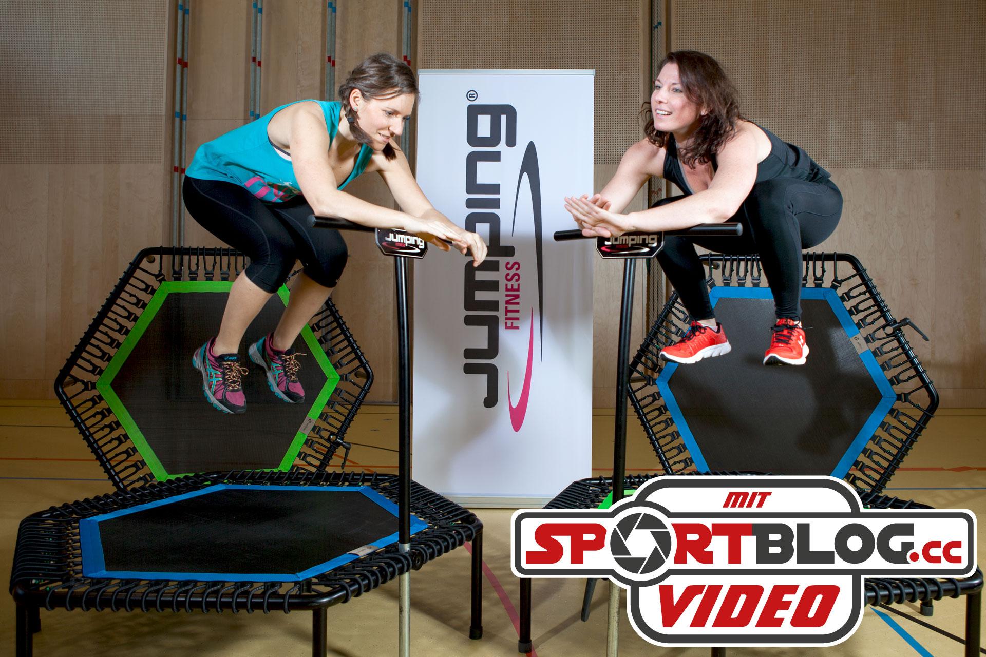 Jumping Fitness: HIIT ohne Gelenksbelastung