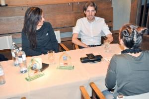 Tanja Stroschneider und Chrostoph Sander im Interview mit Bernadette Hörner von sportblog.cc
