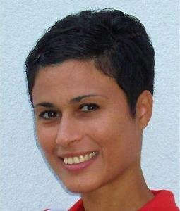Portraitbild von Dalia Fahmy, Eigentümerin der Fitness-Clubs Bodyzone in Deutsch Wagram bei Wien