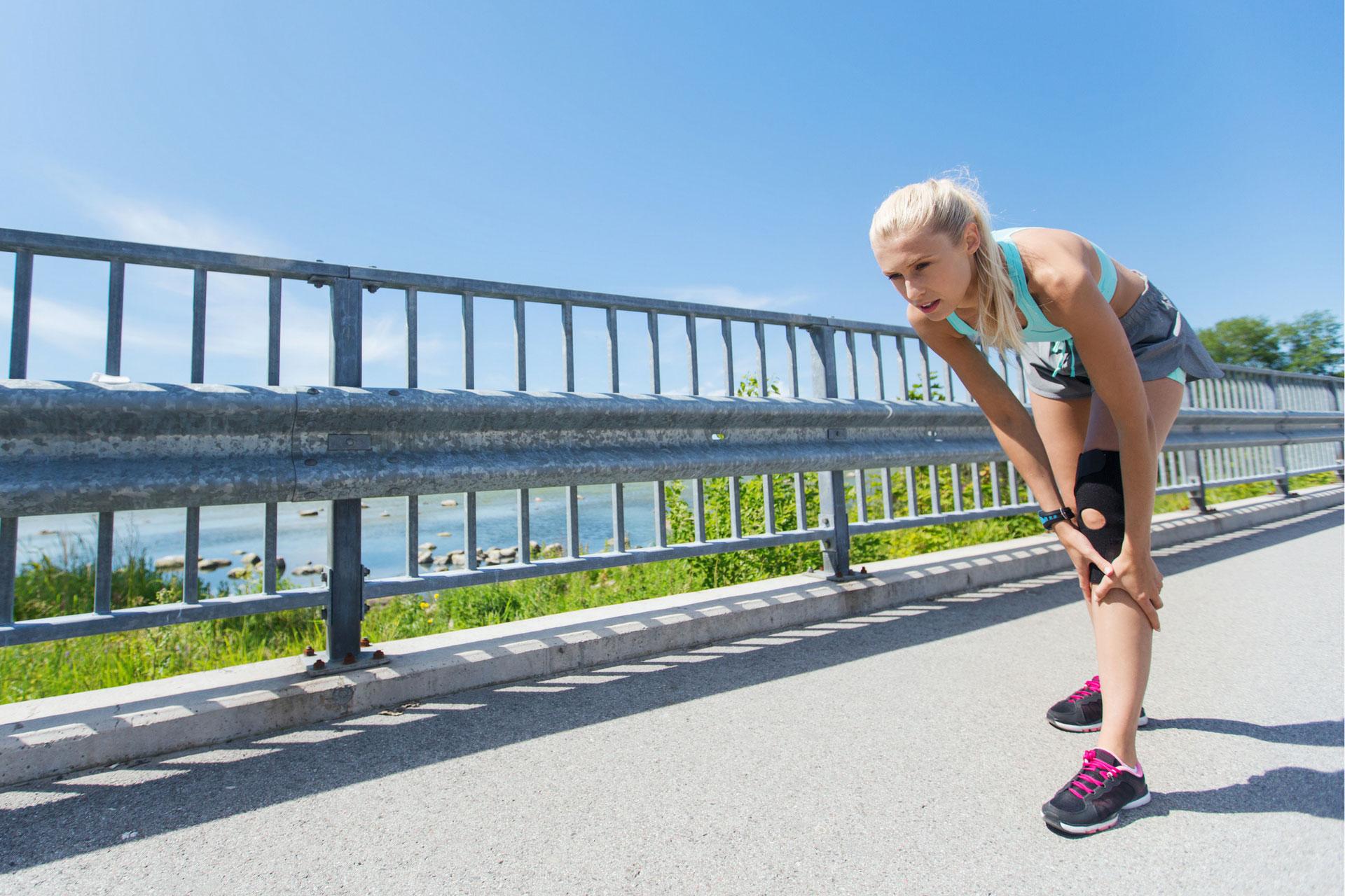 Kreuzbandriss: Wie das Knie wieder voll belastbar wird