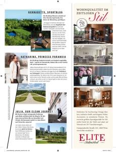 """Kopie von Seite 2 der Bloggerinnen-Lauftipps aus der Zeitschrift """"Woman"""", """"WIen Extra"""" 2018"""
