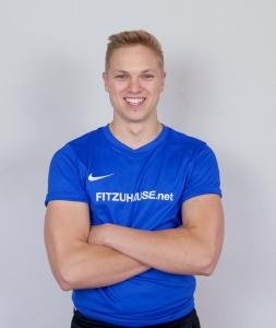 Portrait von Fitness Online Unternehmer Daniel Mehlen