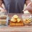 gesunde Kohlenhydrate: Z.B. Kartoffeln, Vollkornnudeln, Reis, Buchweizen