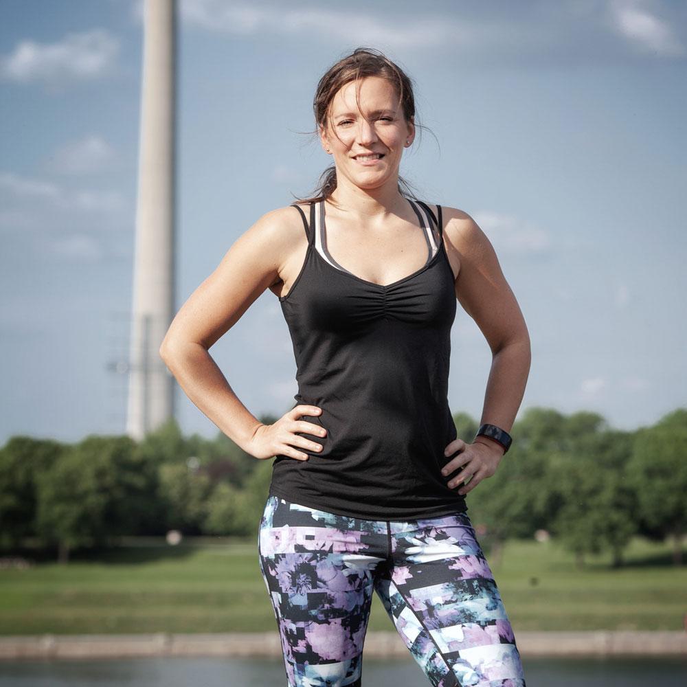 Portraitbild Bernadette Hörner, Lifestylecoach mit sportwissenschaftlichem Schwerpunkt